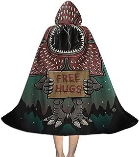 Stranger Things Demogorgon Kid Halloween Cloak Cape with Hood Cosplay Costumes Robe