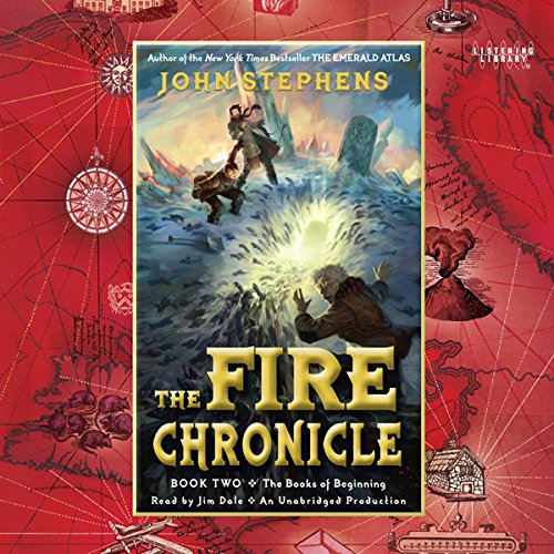 The Fire Chronicle audiobook cover art