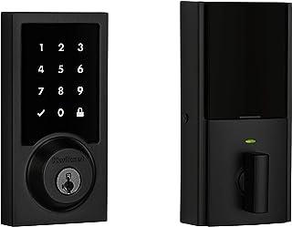 Kwikset 99190-004 Contemporary Premis Touchscreen Keyless Entry Smart Deadbolt Door Lock Works with Apple HomeKit Featurin...