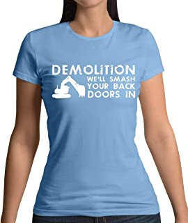 Demolition SmSports Grey Your Doors in - Womens T-Shirt - 13 Colours