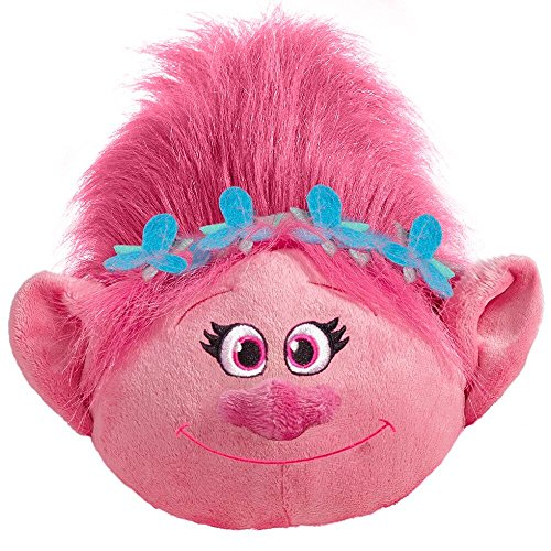 Pillow Pets Poppy DreamWorks Trolls - Stuffed Plush Toy for Sleep, Play, Travel, and Comfort - Great for Boys and Girls of All Ages - Soft and Washable