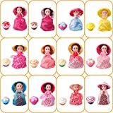 1pcs 15.5cm Tasse Kuchen Puppe Geschmack Mini verformbare Gebäck Prinzessin Deformed Dolls Kleid...