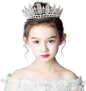 RKY Parte superiore delle ragazze, bambini copricapo corona principessa ragazze Corona Corona partito di cristallo fascia ...