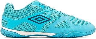 Umbro Vision II Liga, Zapatilla de fútbol Sala, Scuba Blue-Evening Blue