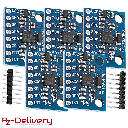 Modulo GY-61 ADXL335 Accelerometro 3 assi shield arduino pic