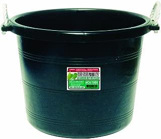 Tuff Stuff Products MCK70BK Muck Bucket, 70-Quart, Black