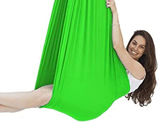 Indoor Therapy Swing 360° Swivel for Autism ADHD Calming Effect Children Hammock Chair Hanging Rope Included Connecting Ro...