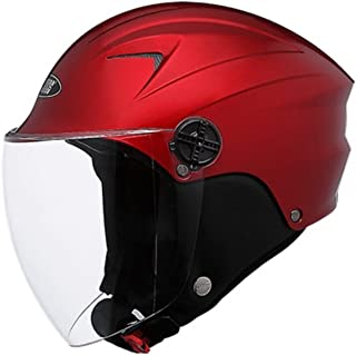 Studds Dame Sporting Helmet (Size : S, Cherry Red)