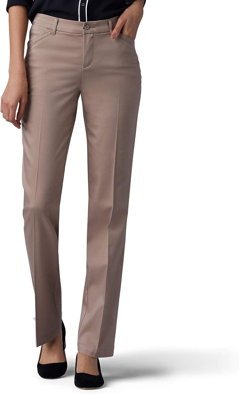 Regular discount Lee Women's Tall Size Flex Motion Fit Straight Max 69% OFF Leg Pant