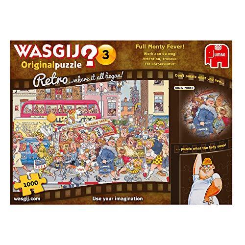 Jumbo Spiele JUM19167 - Wasgij Retro Original 3 Puzzle (1000 Teile)