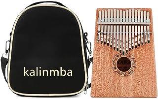 $22 » Deoukana Kalimba Bag Portable Kalimba Mbira Storage Crossbody Bag Detachable Shoulder Strap for 17/15/10 Keys Thumb Piano (Black)