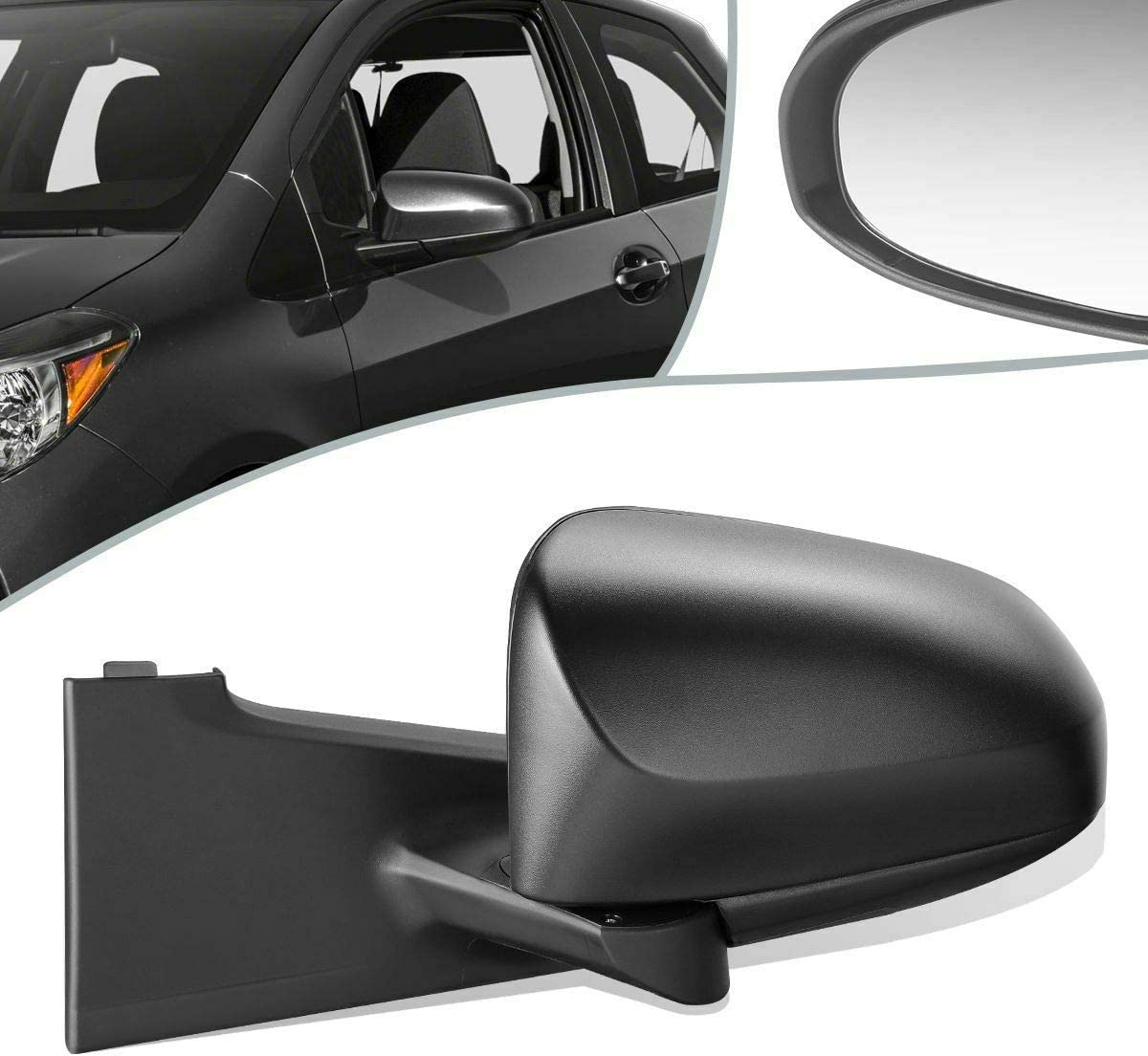 TNNY Hatchback All items Ranking TOP14 in the store OE Style Power TO1320279 Door Left Side Mirror