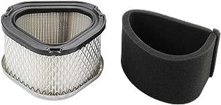 Panari GY20574 Air Filter + Pre Cleaner for John Deere STX30 STX38 STX46 LX173 LT133 LT155 LTR155 Scotts S1642 SST15 Lawn Mower Tractor