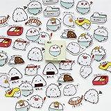 Lot Bowl Rice Sushi Label Stickers Set Pegatinas Decorativas Scrapbooking DIY Diario Álbum Stick Label 45 Unids/Lote