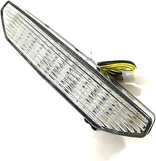 カワサキ 用 LED テール ランプ ライト ウインカー スモーク クリアー レンズ ニンジャ Ninja ZX-6R/10R(07-08年) ZRX1200 DAEG 1400GTR 等 ドレスアップ カスタム パーツ 部品 社外品 (クリアー)