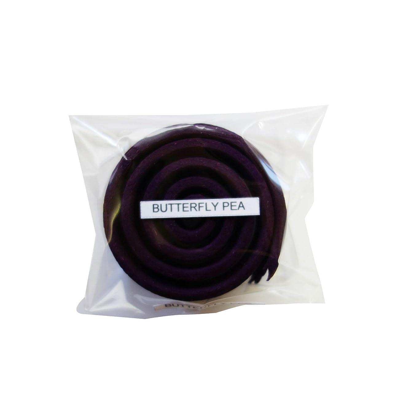 アメリカびっくりした指紋お香/うずまき香 BUTTERFLY PEA バタフライピー 直径5cm×5巻セット [並行輸入品]