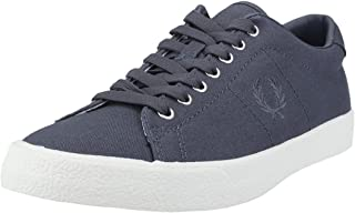 Fred Perry Underspin Mens Trainers Dark Grey - 9 UK