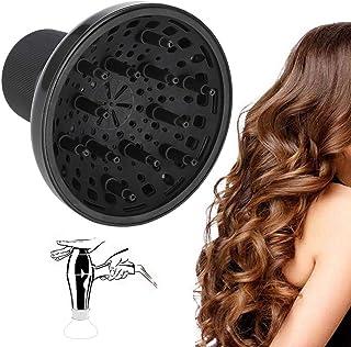 Hairdryer Blower Diffuser, Universal Hair Dryer Accessory Adaptable Curly u Wavy Hair para peluquería Secador de cabello