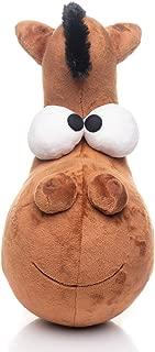 Stuffed Horse Dog Plush – Polyester Horse Dog Plush Animal for Infants & Toddlers – 12.5 Washable Stuffed Animal Toy – Cute Horse Dog Plush Stuffed Animal – Fantastic Baby Shower & Birthday Gift