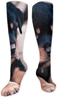 Calcetines de poliéster y algodón por encima de la rodilla, retro, unisex, para muslo, cosplay, botas largas, para deportes, gimnasio, yoga, sinyster gates