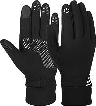 VBIGER Herren Touchscreen Handschuhe Anti-Rutsch Outdoor Sport Handschuhe Fahren Radfahren Handschuhe mit Fleece Liner für Herbst und Frühwinter