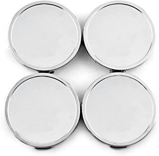 69mm/68mm ABS Styling Car Wheel Hub Center Caps Chrome Silver for 2005-1025-HRE CAP-CT01 Set of 4