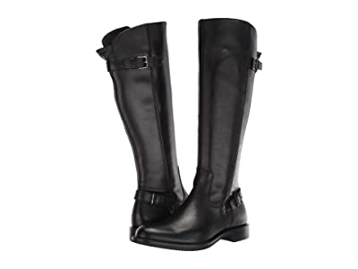 ECCO Sartorelle 25 Tall Buckle Boot (Black) Women