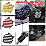 AHOLAA for HONDA Rebel 300 500 CMX500 CMX300 2017 2018 2019 2020 Right Engine Cover Stator Case Body Frame Protector Crash Guard Fall Protection,CMX 500 CMX 300 Engine Case Crash Slider (Black)