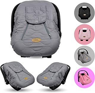 Cozy Cover Infant Car Seat Cover (Gray Quilt) – The Industry Leading Infant Carrier..