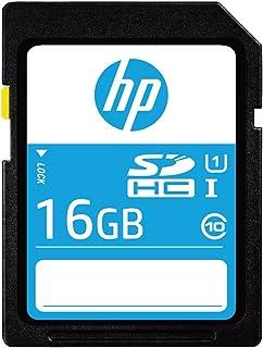 HP 16GB SDHCカード UHS-1 読込:80MB/s フルHD 高速ビデオ カメラのメモリカード (16GB, (U1) SDカード)