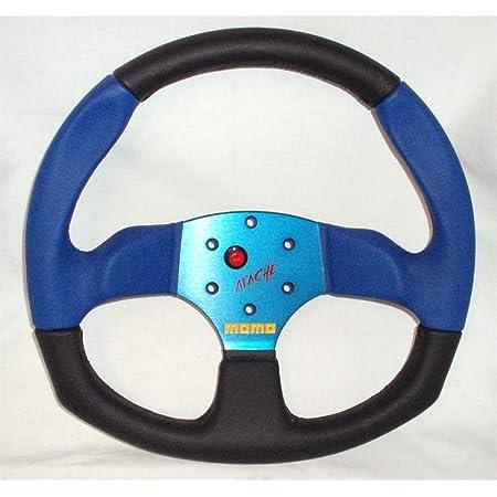 Momo Lenkrad Apache 34cm Blau Mit Abe Steering Wheel Volante Auto