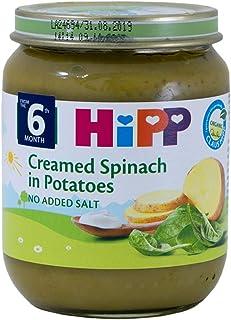 Hipp Organic Cream Spinach With Potatoes Jar, 125g