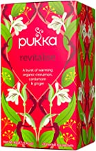 Pukka Herbal Teas Revitalise, Organic Cinnamon and Ginger Tea, 20 Count