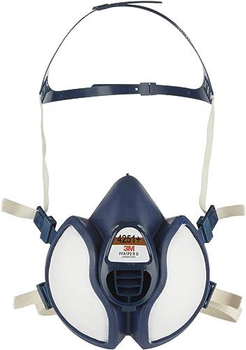 3M Masque protection pour pulvérisation de peinture4251+, A1P2, 1paquet