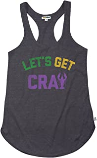 Women's Mardi Gras T Shirt Outfits - Female Funny Mardi Gras Costume Tank Tops