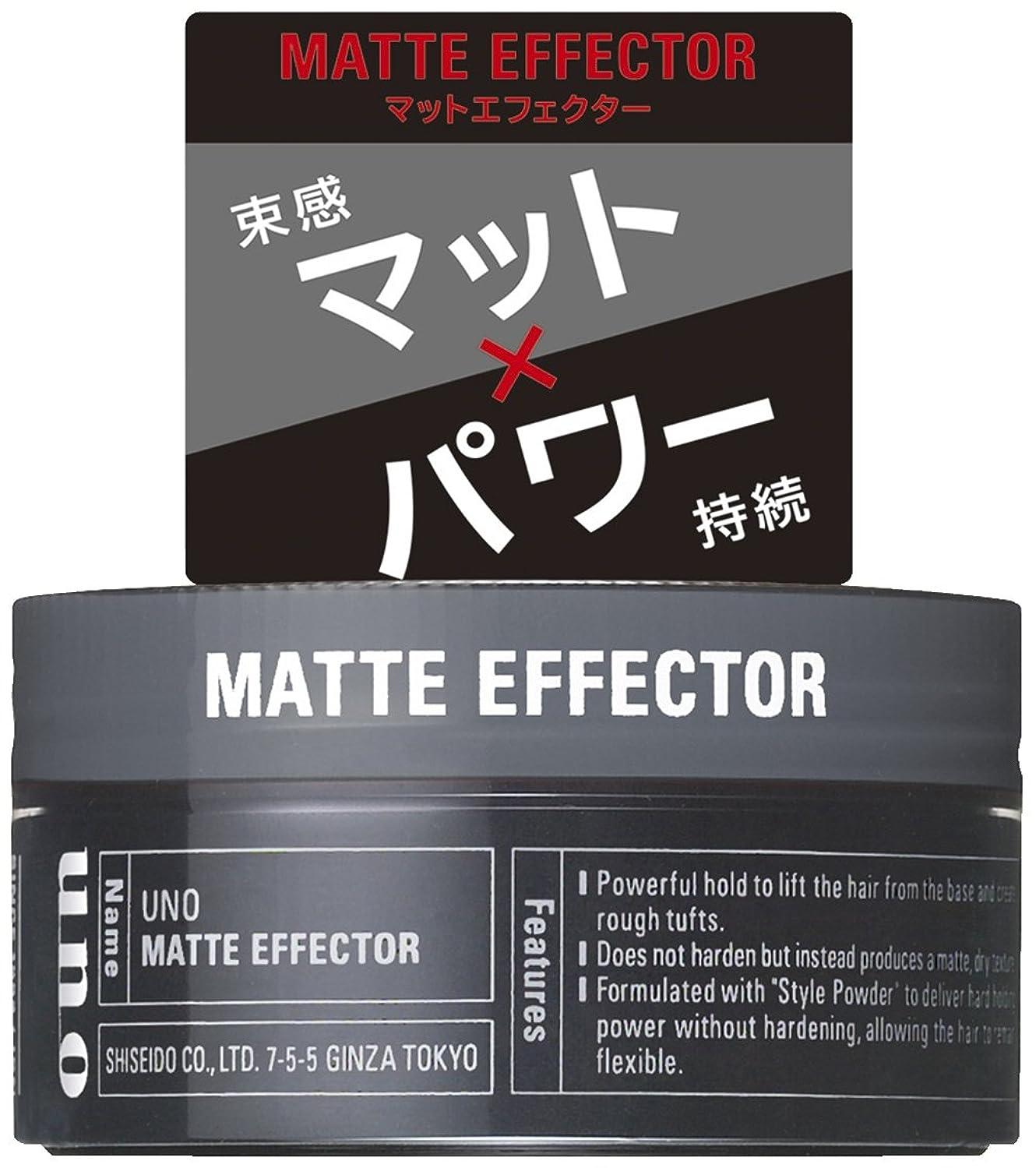動かす謙虚汚染するウーノ マットエフェクター 80g ワックス