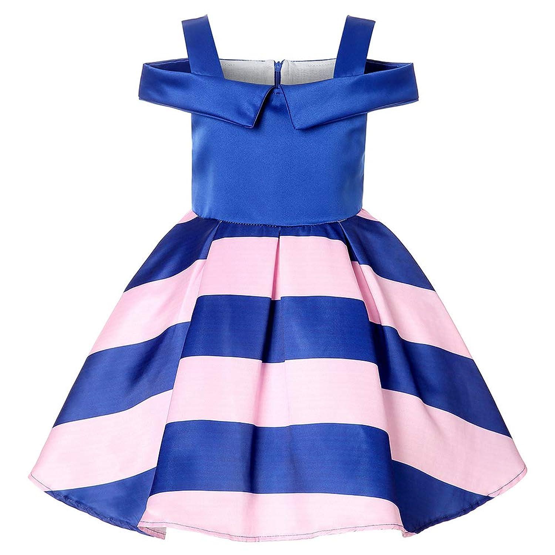 ガールズドレス 女の子ドレス ワンピース お宮参り 入園式 結婚式 七五三 卒業式 お花柄 肩を出す 蝶