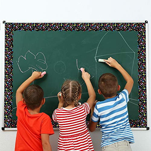 Bulletin Borders Stickers, 80 ft Back-to-School Decoration Borders for Bulletin Board/Black Board/Chalkboard/Whiteboard Trim, Teacher/Student Use for Classroom/School Decoration, 2 Set Photo #7