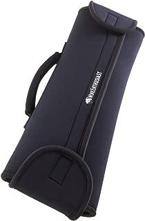 Wine Enthusiast Bottleguard Neoprene Wine Bottle Protector & Carrier, Black