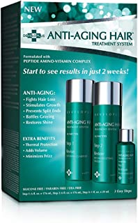 Anti Aging Hair Treatment System