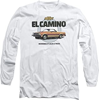 Chevrolet Also A Truck Licensed Adult Long Sleeve T-Shirt S-3XL