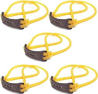ysister 5 Piezas Tirachinas de Caza, Gomas para tirachinas 2 Tiras High Tec Gomas elasticas para tirachinas para Entretenimiento, Pesca, arboristCompetición y Caza