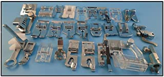 NGOSEW Presser Foot Feet for Bernina Old Style Sewing Machines .Ruler Free Motion Darning Foot 1/4
