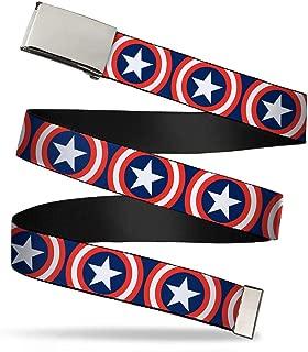 Web Belt Captain America 1.25