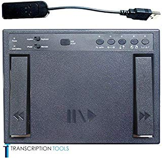 Vpedal Wireless Transcription Foot Pedal, 3 Function