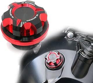 T-Axis Red CNC Oil Filler Cap For Suzuki GSX S1000 S750 F GSX-S 750 GSX-R 750 600 1000 16 17 18 19 Hayabusa SV650 SV1000 B-King GSR 750 600 Bandit 650 1250 S GSF 600