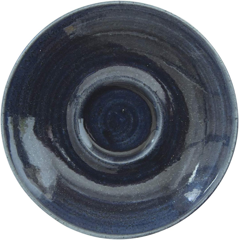 Visiodirect Lot DE 12 sous-Tasses Monochrome Saphir - 15,6 cm