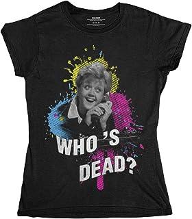 wallshirt T-Shirt Donna Jessica La Signora in Giallo