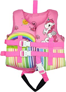 Silfrae Swim Vests Swim Floatation Vest Learn-to-Swim Device Weighing from 30 to 50 lbs