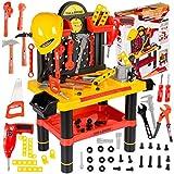 Kinderplay Banco Herramientas Juguetes Y Casco Tool&...